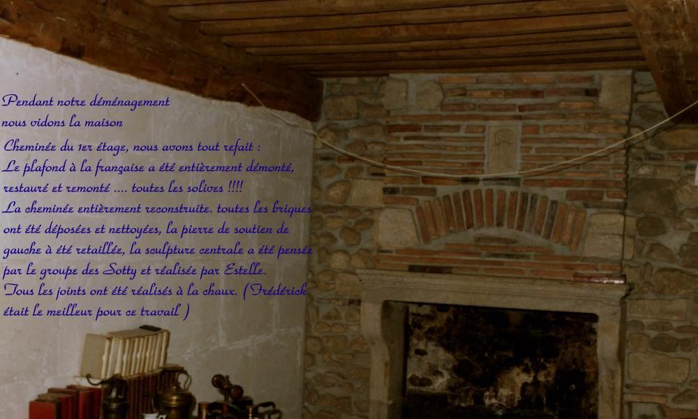 Chemin e et plafond la fran aise au premier tage - Plafond a la francaise ...